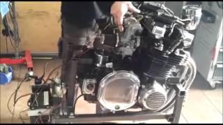 Kawasaki Z1000 ST Motor mit 1100 ccm