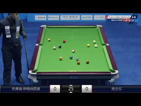 Jeffrey Ignacio (PHI) VS Wan Tongle (CHN) - 7th World Chinese Pool Masters Grand Final