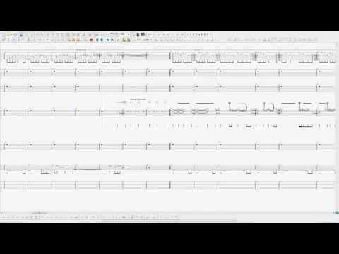 Pantera - Cemetery Gates (Guitar Pro 5.2 Realistic Sound Engine ...