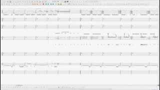 Pantera - Cemetery Gates (Guitar Pro 5.2 Realistic Sound Engine)
