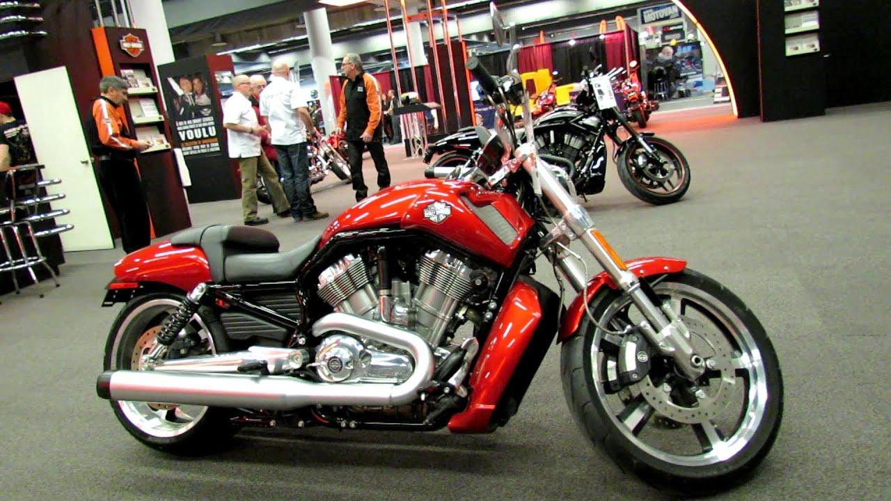 Harley Davidson V Rod Muscle Red