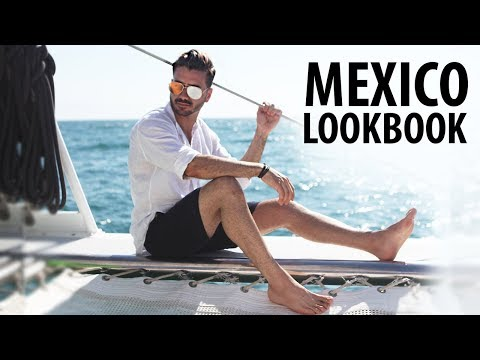 4 EASY OUTFITS FOR MEN | Men's Vacation Outfit Inspiration | Alex Costa in Mexico
