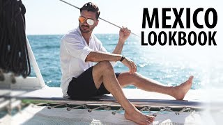 Men's Outfit Inspiration | Mexico Vlog & Lookbook | ALEX COSTA