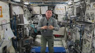 Space Station Crew Member Discusses Life in Space with Maryland Students