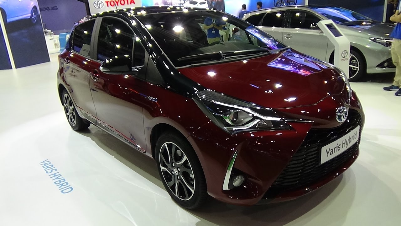2018 Toyota Yaris Hybrid Feel Bi Tono Exterior And Interior