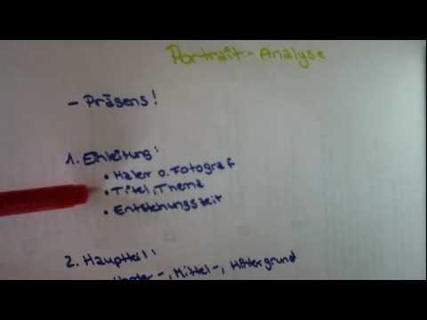 Portrait-Analyse - Anleitung für eine Bildanalyseиз YouTube · Длительность: 2 мин57 с