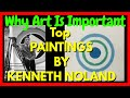 Why Art Is Important: Top 5 Kenneth Noland Paintings   The Abstract Art Portal