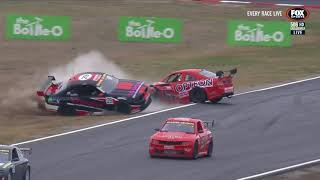 AUSSIE RACING CARS ROLLOVER - WINTON 2018