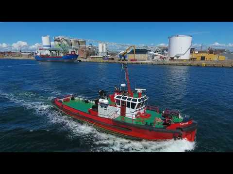 Shipsforsale Sweden harbour tug Tugmarit for sale.