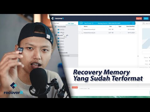 di video berikut ini saya akan memberikan tutorial bagaimana caranya mengembalikan file yang terhapu.