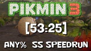 *OLD* Pikmin 3 - any% SS Speedrun 53:25