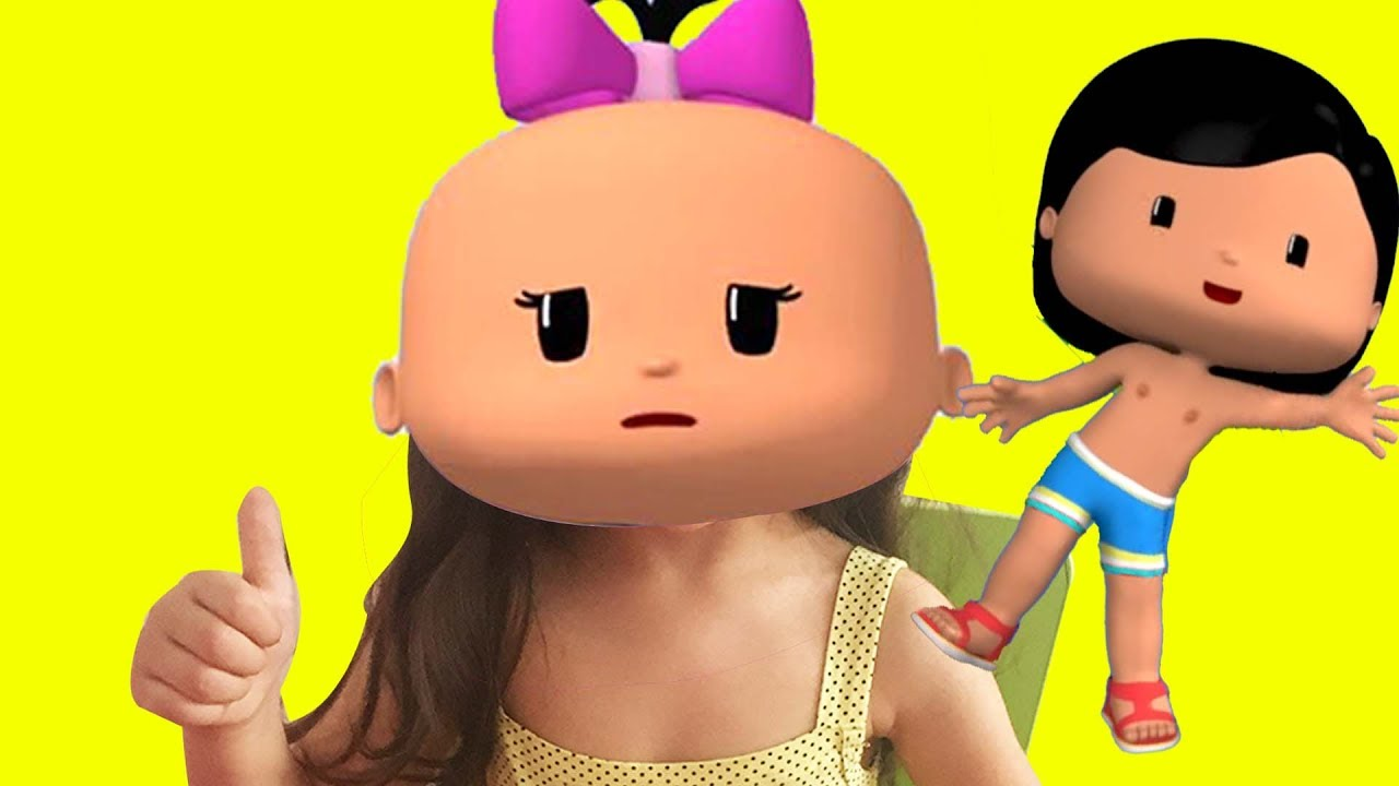 Pepe Bebe çizgi Film Karakteri Ile Renkleri öğreniyorum Boyama