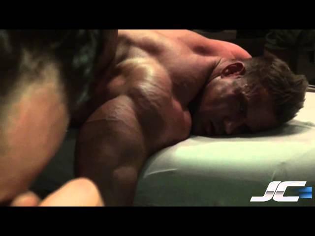 Jay Cutler 2011 Olympia Prep - Therapy with Derik Farnsworth