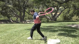 Andy Stays Active in Ellen's Yard