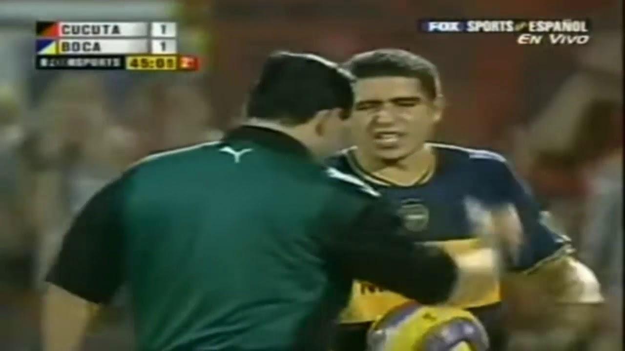Riquelme vs Cúcuta (Away) Semifinal Copa Libertadores 2007