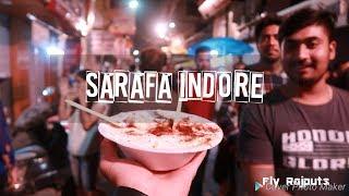 Indore Sarafa Bazar l Night Food Street l Fly Rajputs