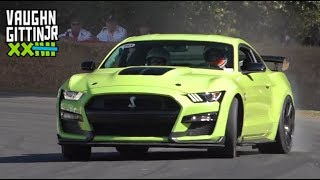 Vaughn Gittin Jr. & 2020 Ford Mustang Shelby GT500 at Goodwood Festival of Speed!