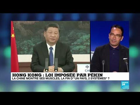 Hong-Kong : la Chine met en garde la France