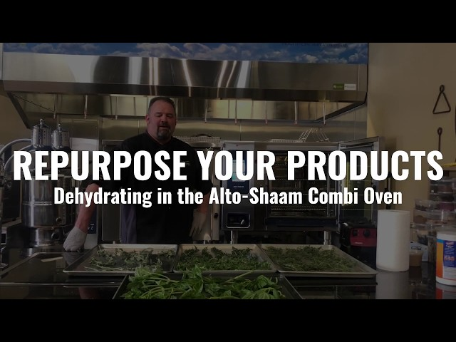 Repurpose Your Products: Dehydrating in the Alto-Shaam Combi Oven