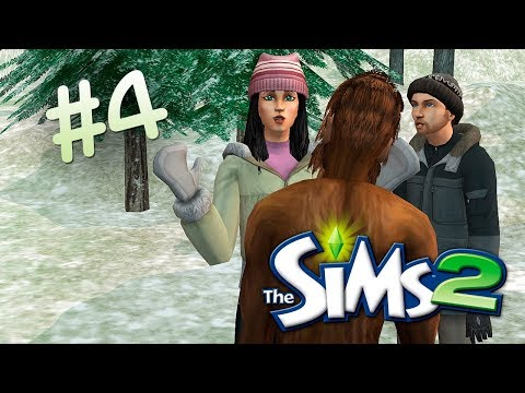 The Sims 2 | Встретили снежного человека! - #4