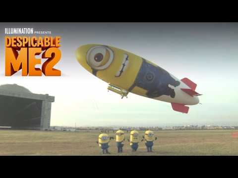 Despicable Me 2 - Despicablimp Time Lapse and Launch - Illumination