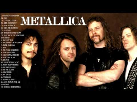 METALLICA Greatest Hits - Best Of METALLICA ( 30 Songs - 3 Hours ) ULTIMATE Compilation