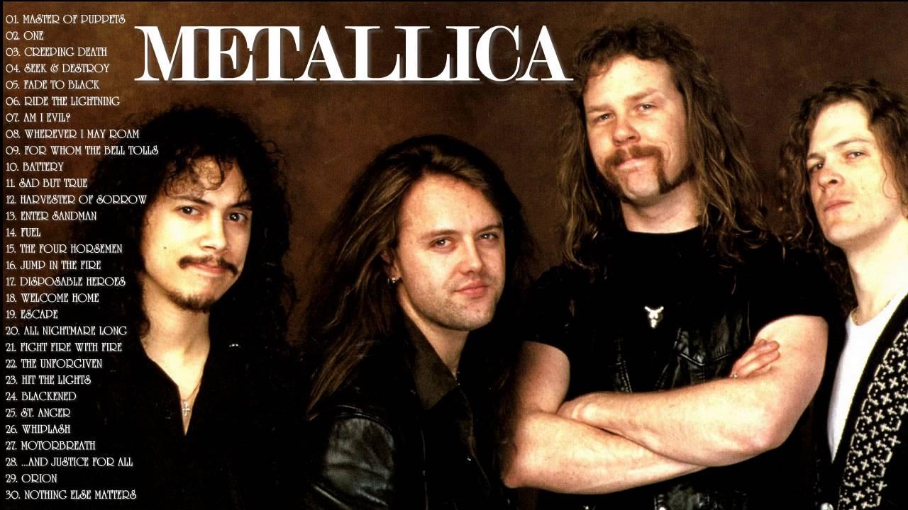 Metallica лучшее скачать mp3