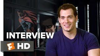 Batman v Superman: Dawn of Justice Interview - Henry Cavill (2016) - Action Movie HD