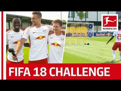 RB Leipzig Confirm Their Role as Favourite  - EA Sports FIFA 18 Bundesliga Free Kick Challenge