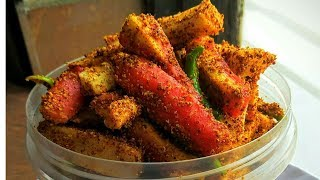 अचार की अनोखी रेसिपी gajar aur mooli ka mix achaar recipe in hindi achaar pickle recipes