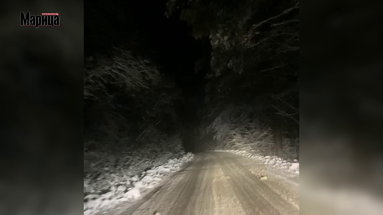 Зима на хижа Здравец - YouTube