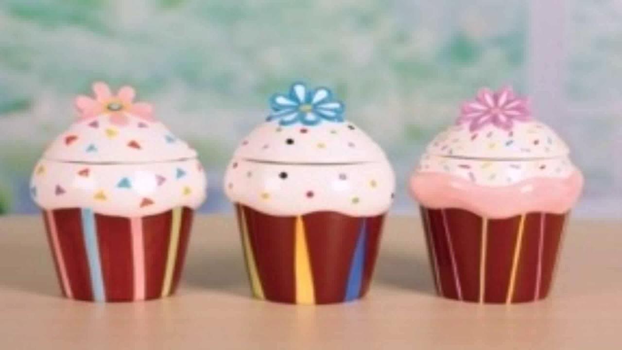 Diy Cupcake Kitchen Decor - YouTube
