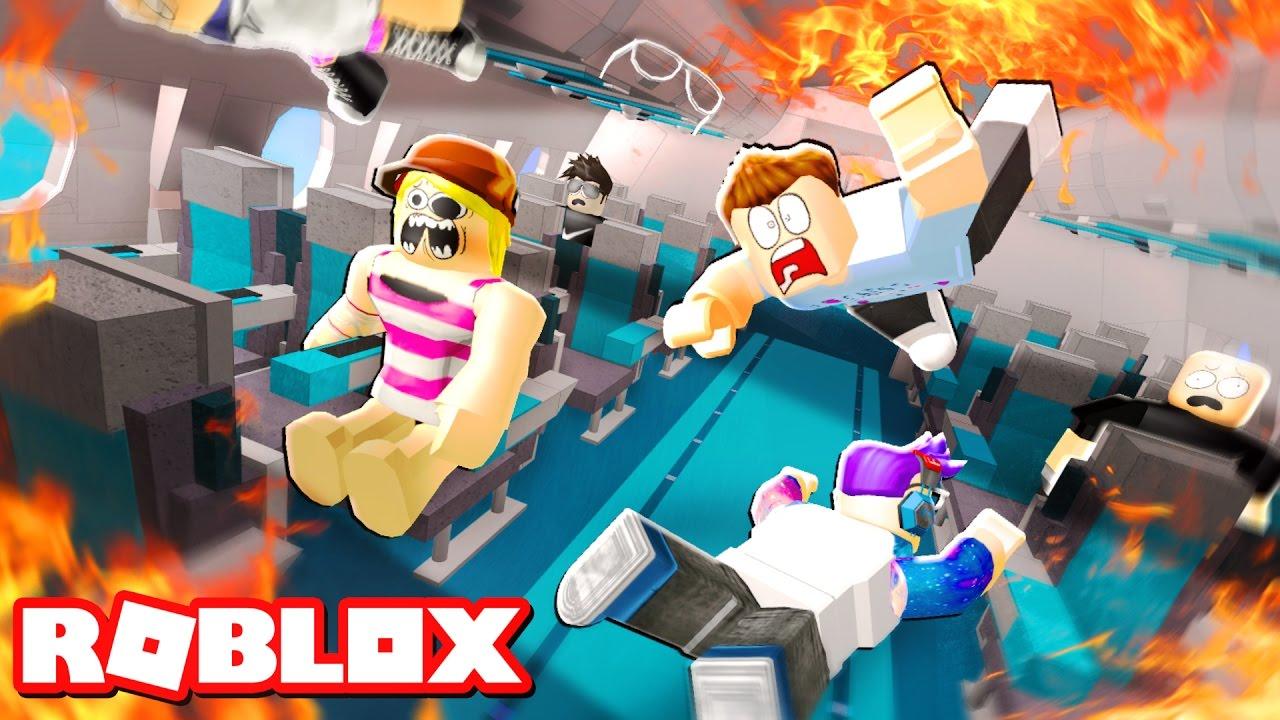 escape a plane crash in roblox