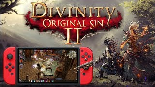 Divinity Original Sin II sur Nintendo Switch | DECOUVERTE GAMEPLAY FR !