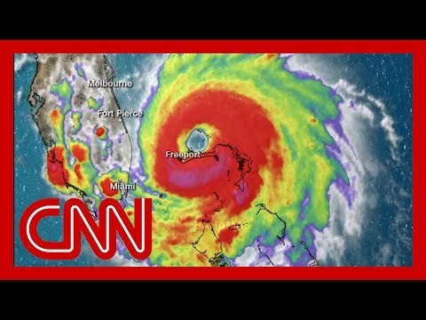 Hurricane Dorian stalls over the Bahamas