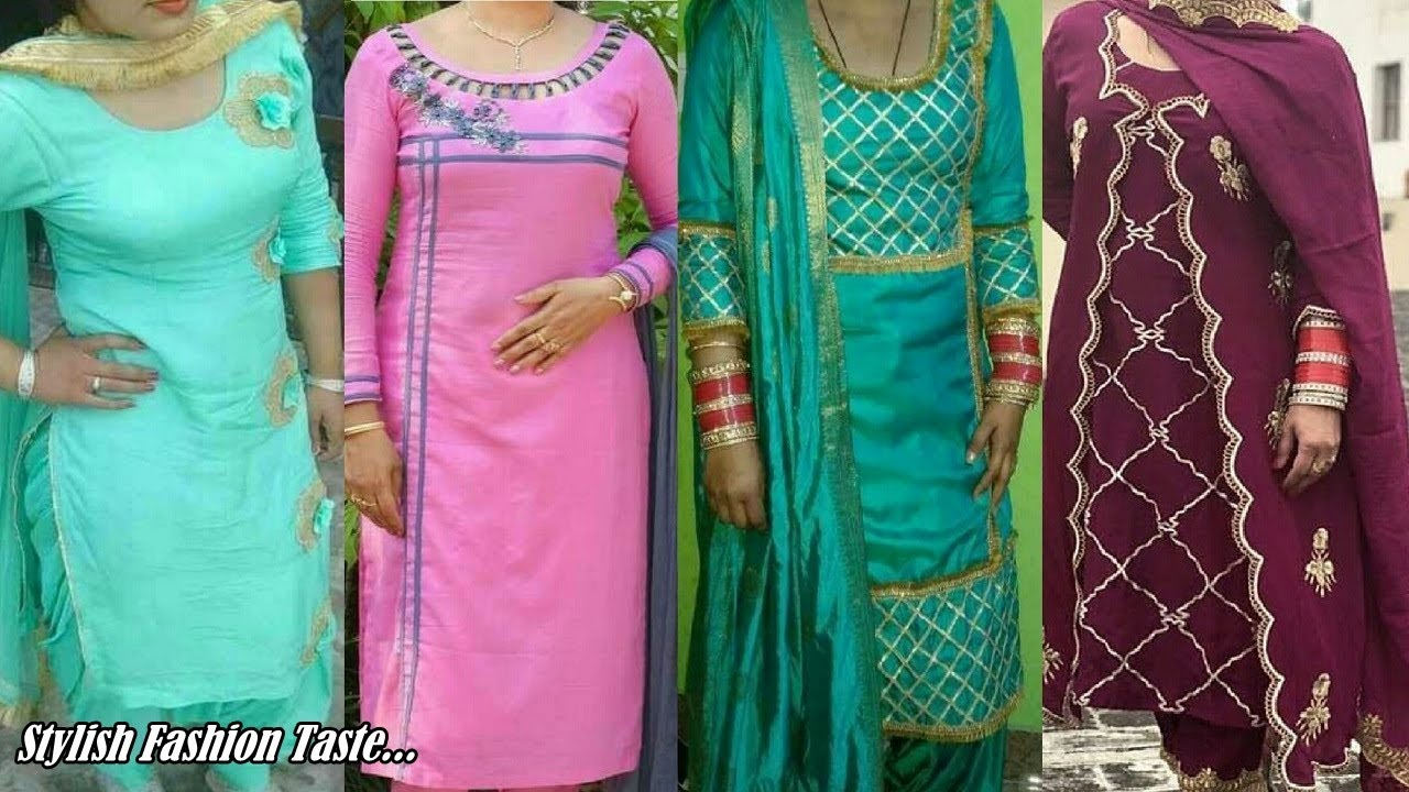 Latest Boutique Style Salwar Suit New Fashion Suit Design Punjabi Suit Design For Girls Youtube