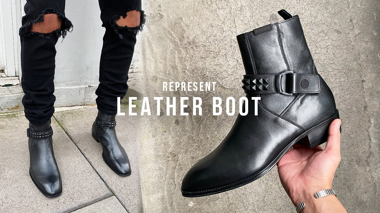 Leather Strapped Boot Review Representclo Youtube