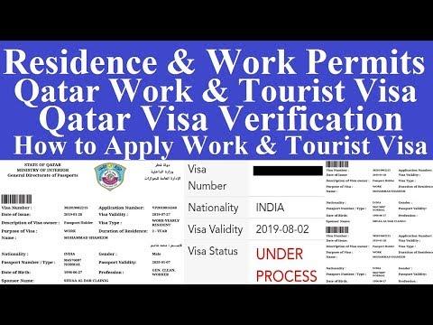 Qatar Employment Visa l Qatar Residence and Work Permits l Qatar Visa Process l Qatar Visa