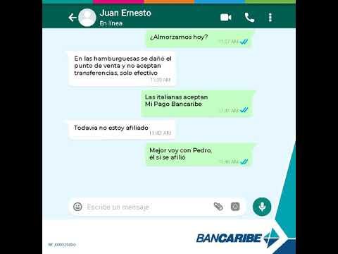 Mi Pago Bancaribe Comercio Chat
