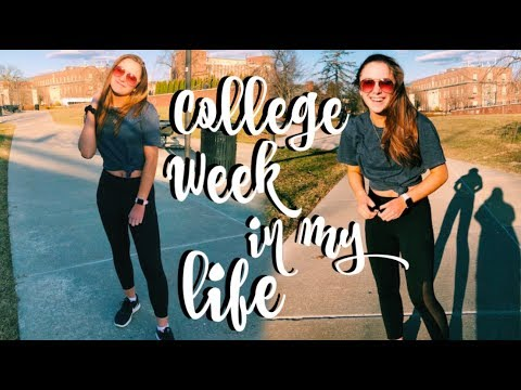 College Week in my Life | Penn State University