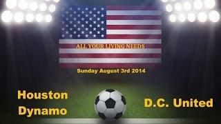 MLS Houston Dynamo vs DC United Predictions Major League Soccer 2014