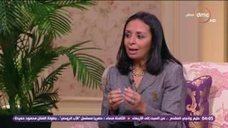 السفيرة عزيزة - مايا مرسي :  يجب تربية الأبناء على إحترام المرأة