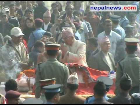 GP Koirala cremated