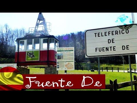 Teleférico de Fuente De - Cable car of Fuente De, Picos de Europa. Cantabria 2014