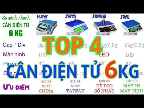 Cân điện tử 6kg – TOP 4 CÂN 6KG – cân trọng lượng phổ biến nhất