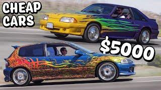 Cheap Car Challenge - Honda Civic vs Ford Mustang