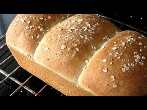 Easy Light Oat Bread Recipe