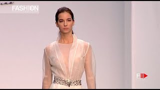 ISIDORA CÁSERES   Linaje Highlights Spring Summer 2018 Madrid Bridal Week   Fashion Channel
