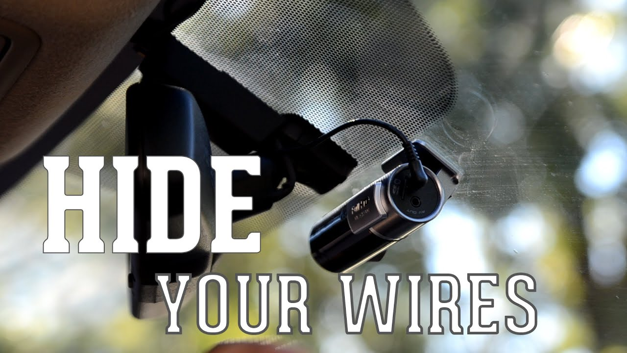The Easy Guide To Hide Your Dash Cameras Wires Car Youtube Wire Under Carpet Cable Wiring Harness Diagram
