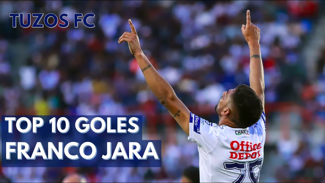 TOP 10 Goles Franco Jara Pachuca | Máximo Goleador de Pachuca